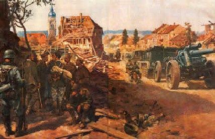 Handel-Mazetti. Артиллерия.