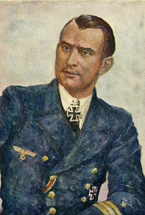 Oskar Graf. Портрет Reinhard Suhren.