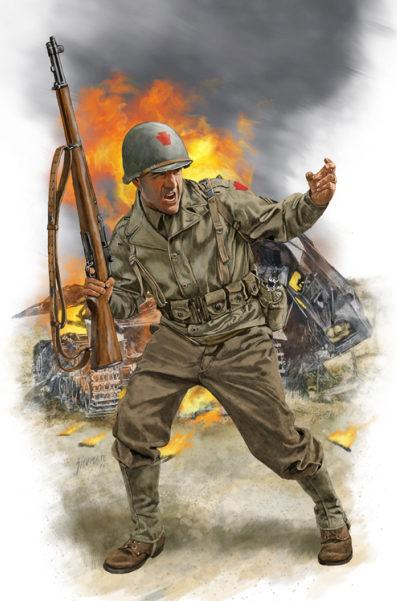 Shumate Johnny. Немецкие пехотинцы.