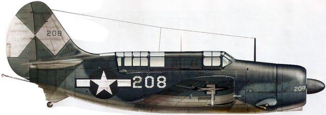 Dhorne Vincent. Истребитель Curtiss SB-2C-4 «Helldiver».