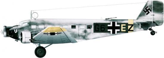 Guillou Jean Marie. Бомбардировщик Ju-52/3m.