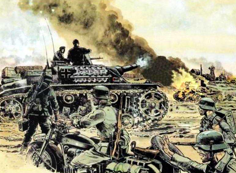 Mouminoux Guy. Мотопехота и танки.