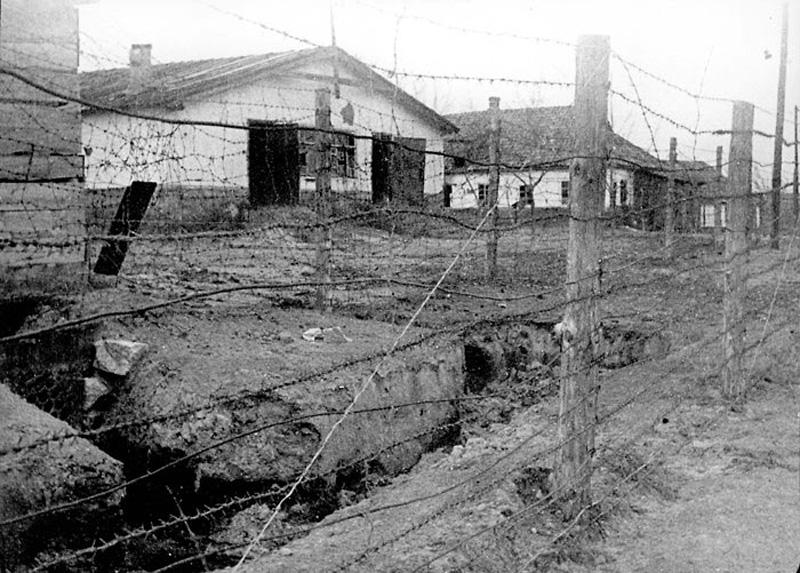 Бараки Сирецкого концлагеря. 1942 г.