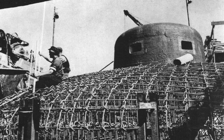 Строительство бункера с бронебашней.