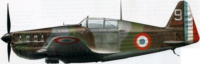 Dekker Thierry. Истребитель Morane-Saulnier MS-406.