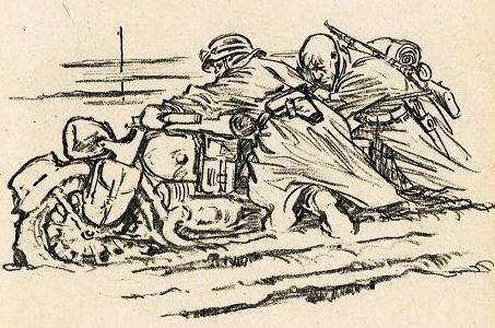 Eigener Ernst. Мотоциклисты.