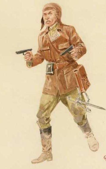 Knotel Herbert. Командир группы спецназа.
