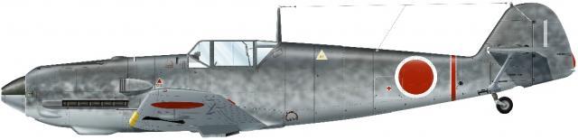 Guillou Jean Marie. Истребитель Bf-109 E-7.