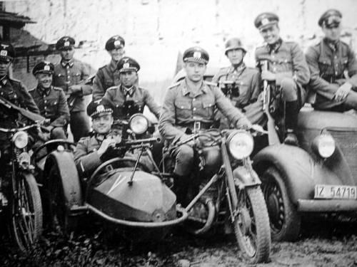 Передовой отряд. Франция. 1940 г.