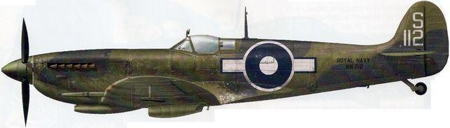 Dekker Thierry. Истребитель Supermarine Seafire L.III.