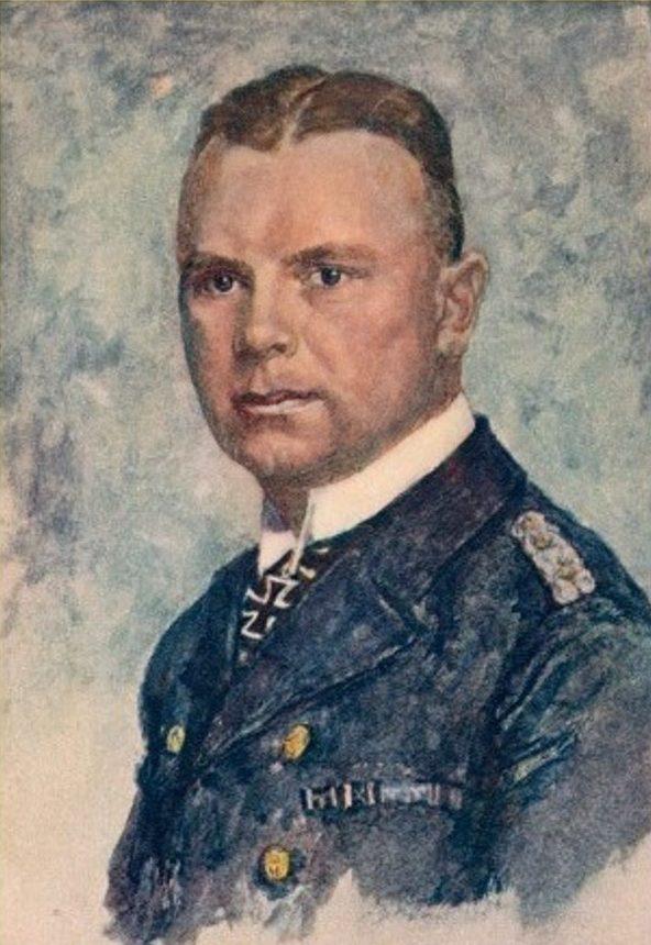Oskar Graf. Портрет Friedrich Bonte.