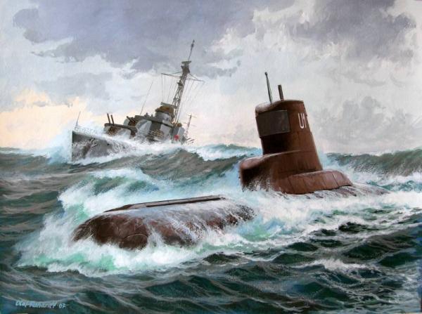 Rahardt Olaf. Подлодка U-1.