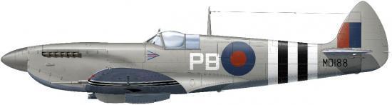Guillou Jean Marie. Истребитель Supermarine Spitfire Mk.VII.