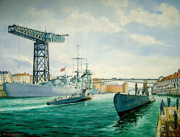 Guyot Michel. Флот Kriegsmarine.