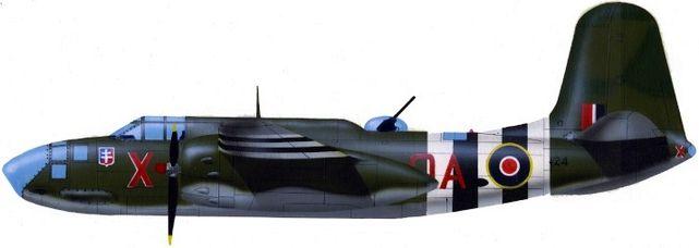 Petit Jean-Jacques. Бомбардировщик Douglas A-20 Boston IV.