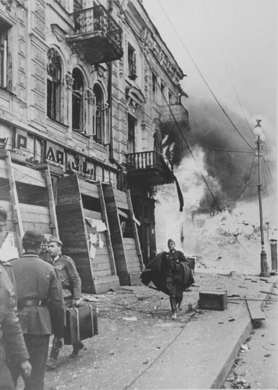 Крещатик. 1941 г.
