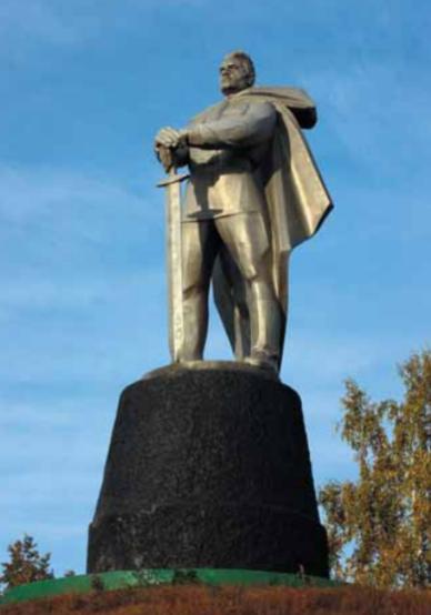 Памятник мемориального комплекса.