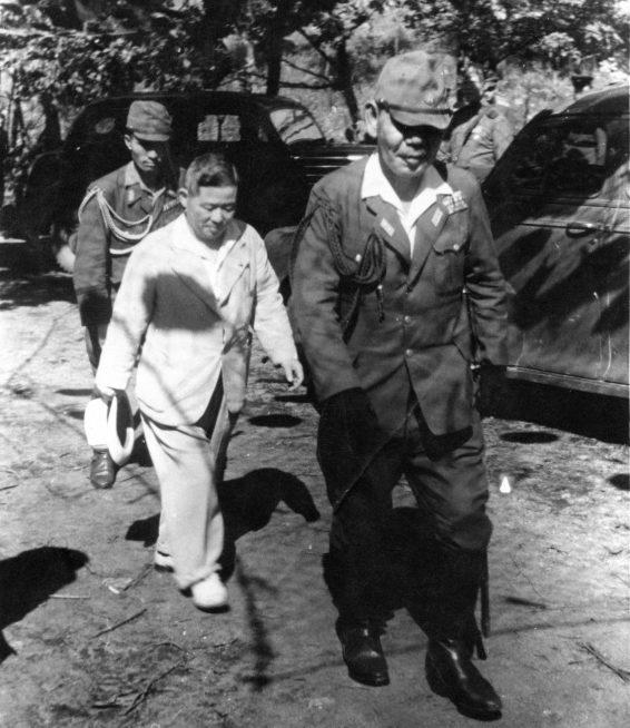 Пленные японцы в Маньчжурии, 1945 г.