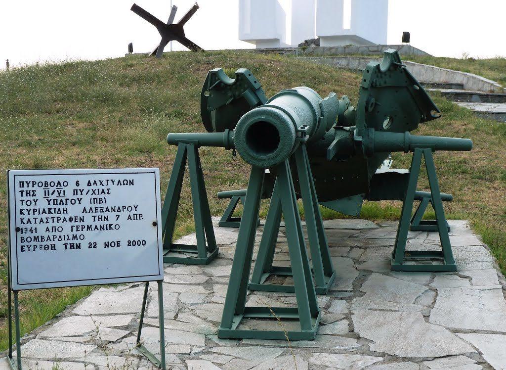 Орудие из форта.