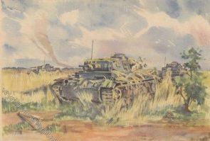 Hensel О. Танковая атака.