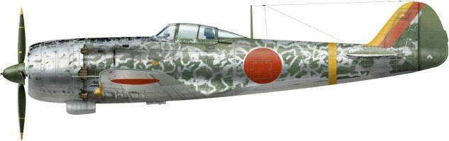 Dekker Thierry. Истребитель Nakajima Ki-84.