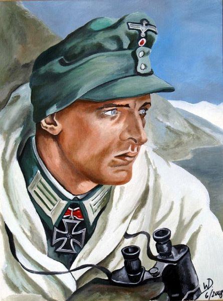 Kretschmann Ernst. Горные стрелки.