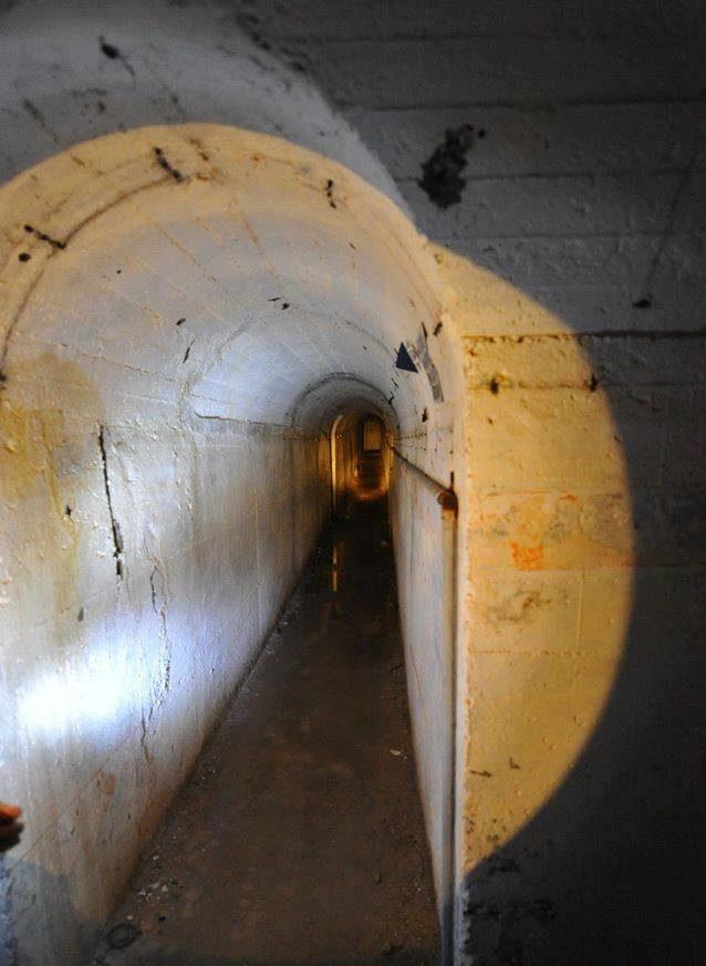 Тоннель форта.