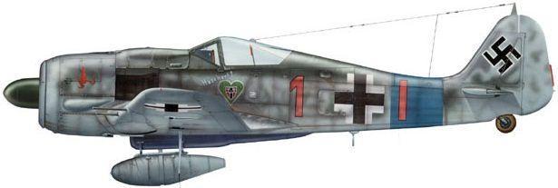 Dhorne Vincent. Истребитель Fw.190 A-8.