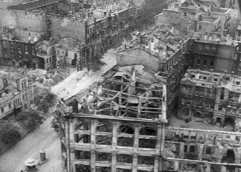 Крещатик. Осень 1941 г.