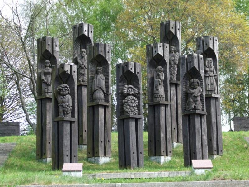 Скульптурная группа.