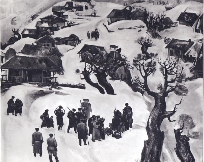 Абаев Лечи. Февраль 1944 г.