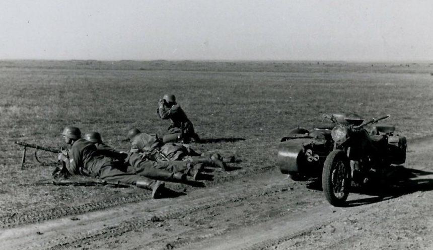 Юг Украины. 1942 г.