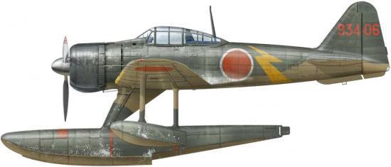 Dekker Thierry. Гидросамолет Nakajima A-6M2-N.