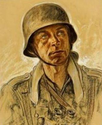 Engelhardt Otto. Солдат.