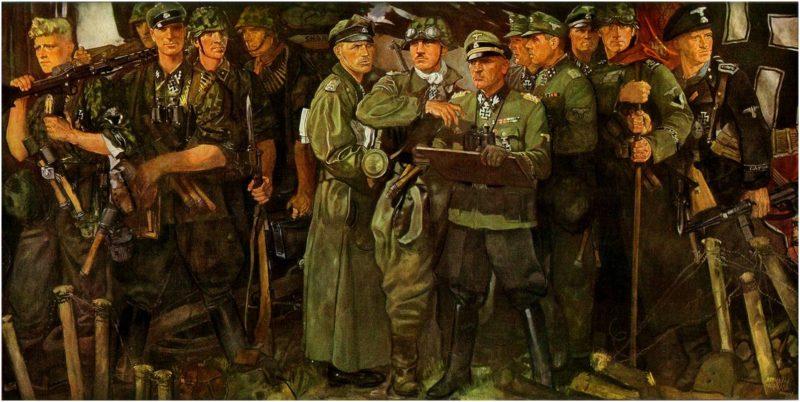 Krause Ernst. Лейбштандарт СС Адольф Гитлер.