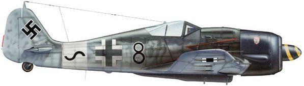 Dhorne Vincent. Истребитель Fw.190 A-8/R-2.