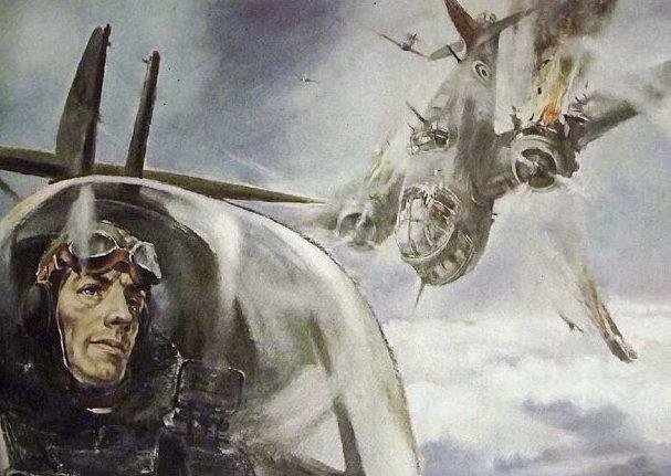 Liska Hans. Атака бомбардировщиков.