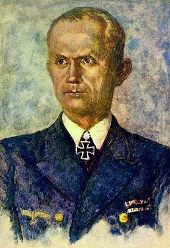 Oskar Graf. Портрет Karl Dönitz.