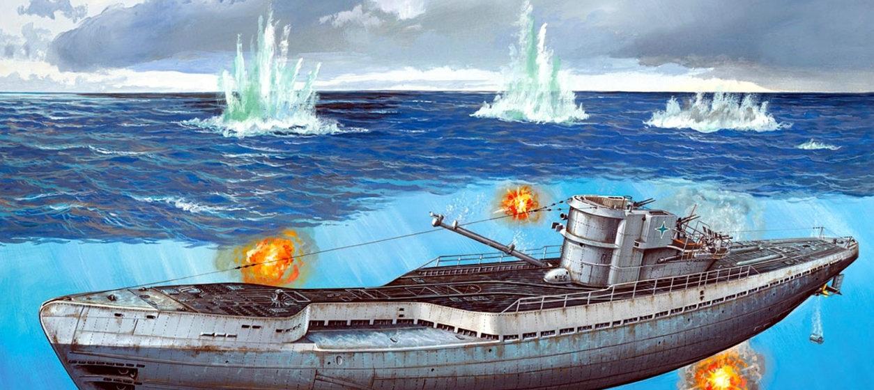 Rahardt Olaf. Подлодка U-190 Typ IX-C.