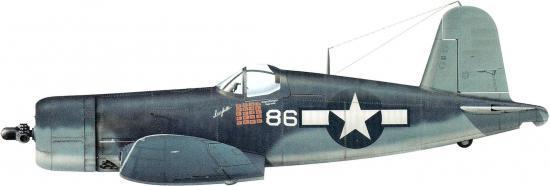 Guillou Jean Marie. Истребитель Vought F4U-1.