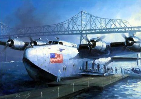 Perinotto Lucio. Гидросамолет Boeing B-314 «Clipper».
