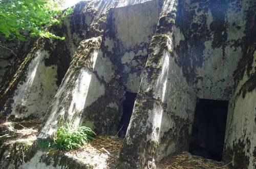Лестница вентиляционной шахты.