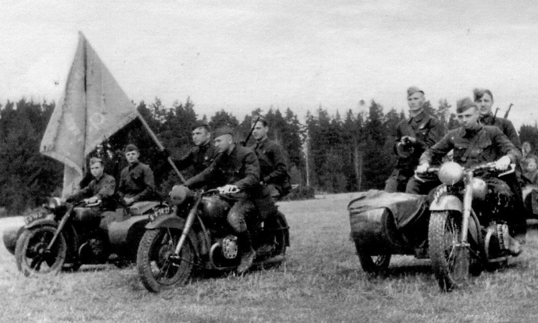 Мотоциклы БМВ. 1940 г.