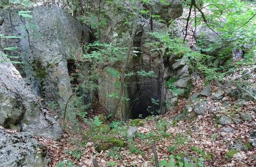 Запасные выходы форта.