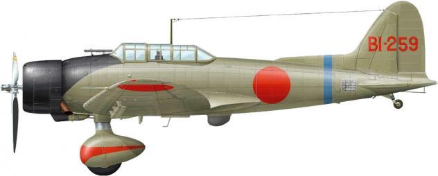 Dekker Thierry. Истребитель Aichi D-3A1.
