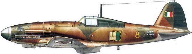 Dhorne Vincent. Истребитель Fiat G.55 Serie I .