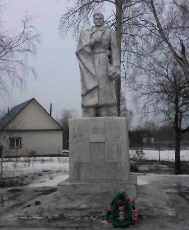 с. Сычевка Смоленского р-на. Памятник учителям Сычевской школы, павшим в годы Великой Отечественной войны.