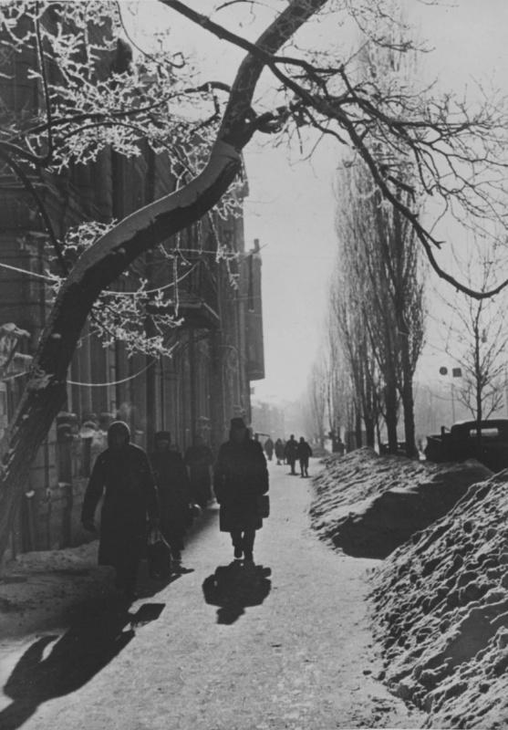 Бульвар Шевченко. Февраль, 1943 г.