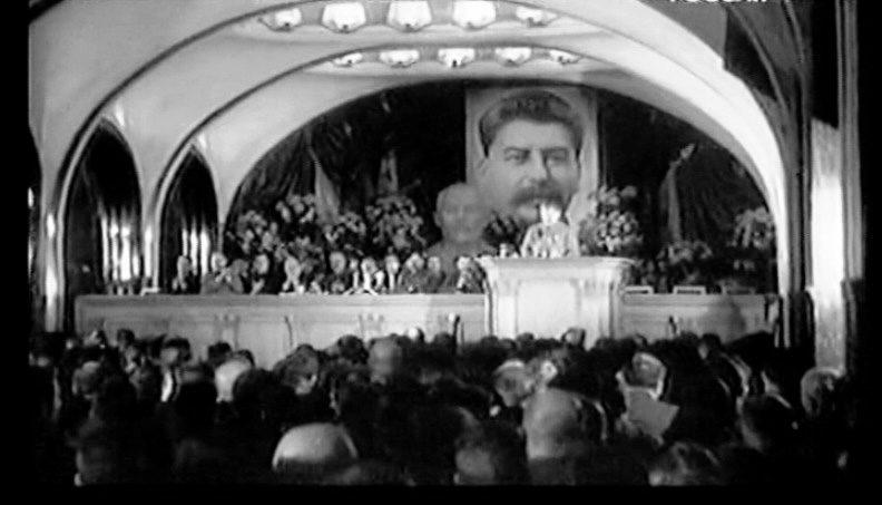 Торжественное заседание на станции метро. 6 ноября 1941 г.