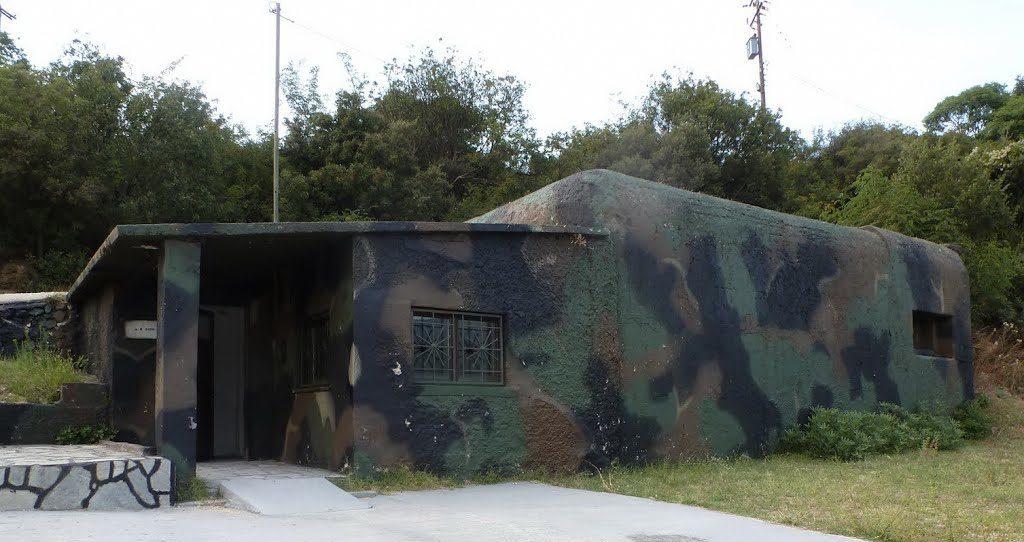 Вход в бункер.
